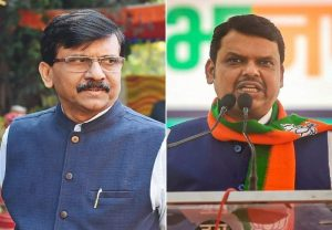 "Sanjay Raut meets Fadnavis: Shiv Sena MP says ""There can be ideological differences but we are not enemies"""