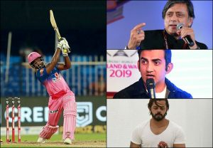 'Sanju Samson doesn't need to be next anyone': Sreesanth, Gambhir urge Tharoor not to compare Samson with Dhoni