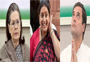 Smriti Irani shares hilarious 'Rasode Mein Kaun Tha' spoof featuring Sonia and Rahul Gandhi
