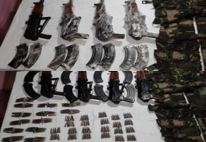 Indian Army foils Pak-backed terrorists' bid to smuggle weapons through LoC; Finds AK-74s, 240 rounds of ammo
