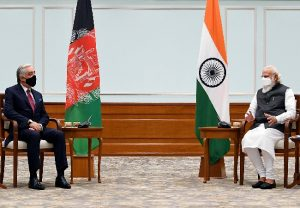 Head of Afghan Peace Council meets PM Modi, re-affirms commitment to deepen India-Afghan relations