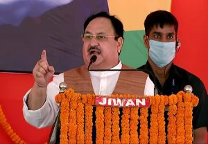 Bihar Elections 2020: JP Nadda tears into RJD, says 'lawlessness is the nature of party'