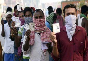 Bihar votes in 1st phase of assembly election 2020 | In Pics