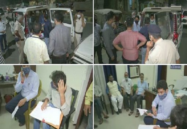 IT sleuths raid Cong office