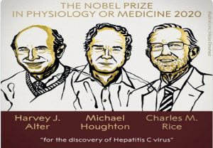 Nobel Prize in Medicine awarded to 3 scientists for discovery of Hepatitis C virus