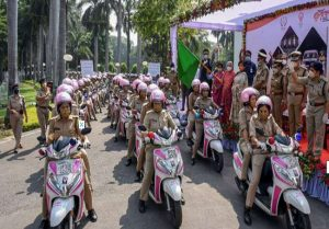 'Pink Patrol' launched in Lucknow: 100 two-wheelers, 10 four-wheelers to safeguard women in city