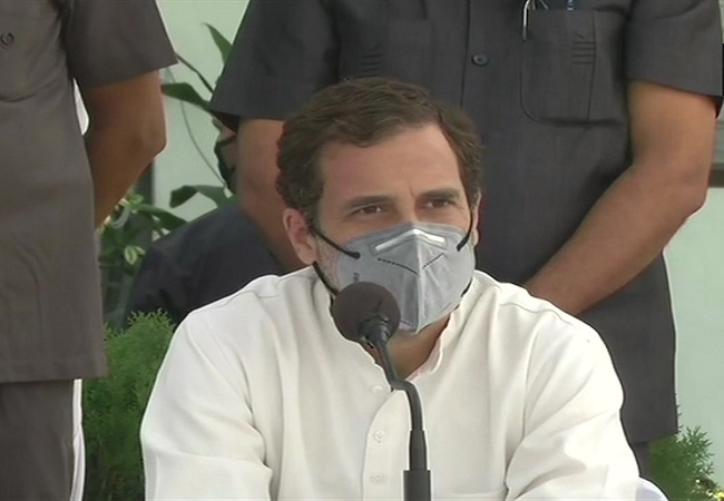 LIVE: Govt destroyed small & medium businesses during the lockdown, says Rahul Gandhi