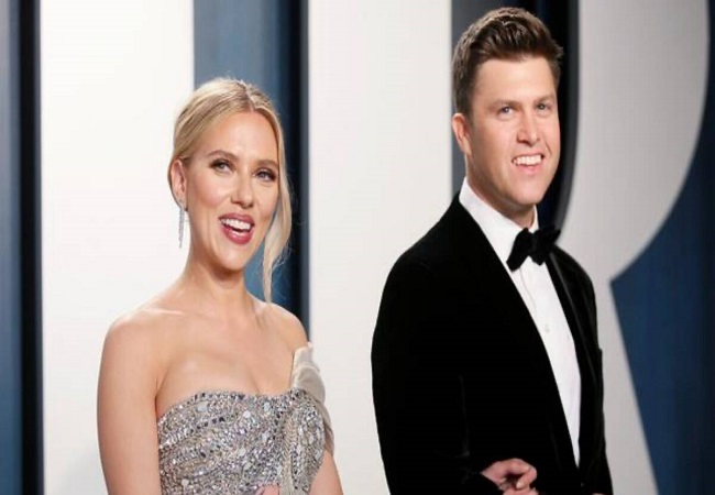Scarlett Johansson ties the knot with comedian Colin Jost in a secret ceremony