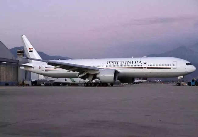 PM Modi's new special aircraft Boeing 777 'Air India One', equipped with missile defence systems, lands in Delhi
