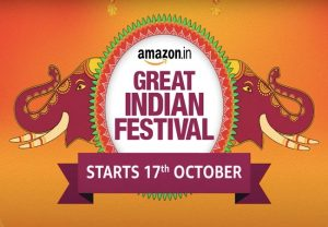 Amazon Great Indian Festival 2020 sale to kick off from October 17