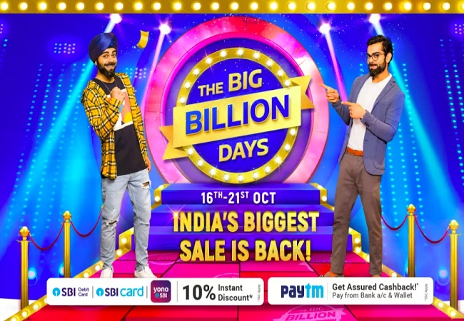 Flipkart Big Billion Days are back; Sale to start form October 16