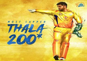 IPL 2020: MS Dhoni becomes first player to play 200 IPL matches