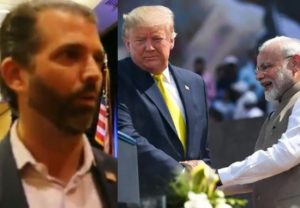 Relationship of my father President Donald Trump & PM Modi is incredible: Donald Trump Jr