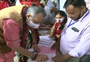 Bihar Elections 2020 LIVE UPDATES: Voting begins for the first phase; Union Minister Giriraj Singh casts his vote in Lakhisarai