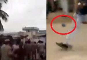Hyderabad: Locals hurl slippers at TRS MLA Manchireddy Kishan Reddy during his visit to flood-affected area (Video)