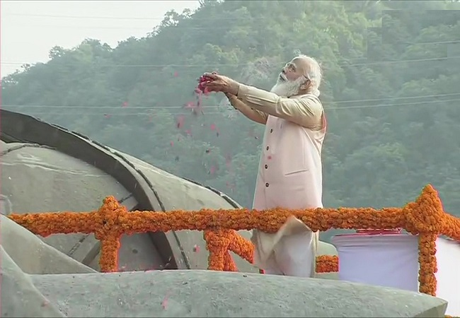 PM Modi pays tribute to Sardar Patel on his birth anniversary