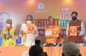 Bihar Elections 2020: Nirmala Sitharaman releases BJP's manifesto, promises free COVID vaccination in the state