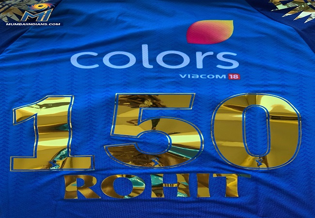 Rohit becomes second player to reach 150 IPL caps for Mumbai Indians