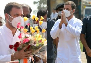 Rahul Gandhi's first rally in Bihar | See Pics