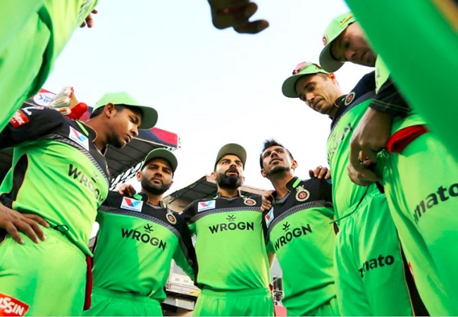IPL 2020: RCB to wear green jersey in the match against CSK