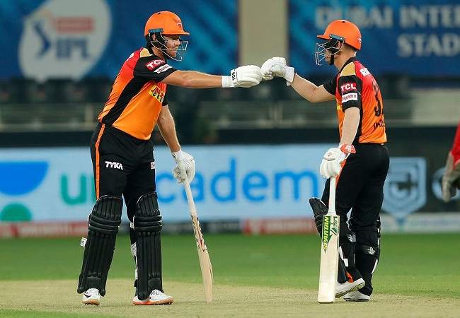 IPL 2020: SRH players wear black armbands in memory of Najeeb Tarakai