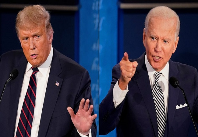 Second presidential debate between Trump and Biden cancelled due to disagreement over virtual format