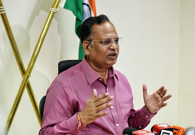 25-30% tests of outsiders caused spike in Delhi COVID-19 numbers, claims Satyendar Jain