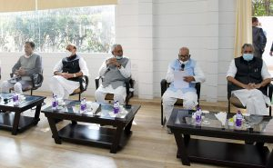 NDA Legislature party meeting; See Pics