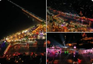 Ayodhya decked up for 'Deepotsav'; 5.51 lakh diyas to lit up city, create world record (VIDEO)