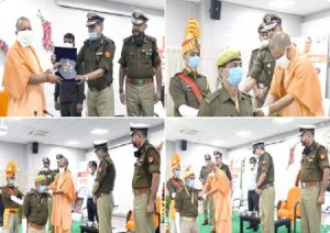 UP: Diwali bonanza for 5042 PAC constables, CM Yogi attends promotion ceremony