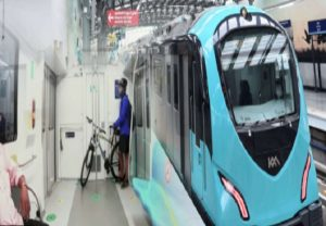 In Kochi Metro, commuters can carry their bicycles; public health is the motive