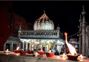 Diwali in Delhi: Lights and diyas adorn the Hazrat Nizamuddin Aulia Dargah