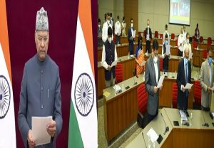 Gujarat CM, ministers mark their presence at celebration of Constitution Day