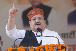 JP Nadda to hold roadshow in Hyderabad for GHMC polls