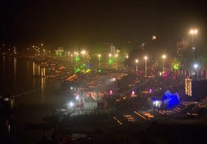 Kashi ghats illuminated with 15 lakh diyas, PM Modi attends Dev Deepawali Mahotsav (VIDEO)