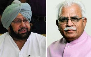 Amid 'Delhi Chalo' farmers march, Punjab & Haryana CM engage in Twitter spat