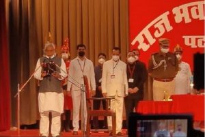 Nitish Kumar takes oath as Bihar CM for 4th straight term, 14 ministers inducted