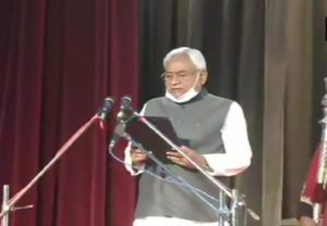 Will work together and serve people: Nitish Kumar after taking oath as Bihar CM