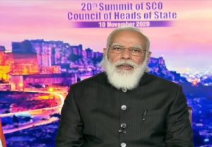 We have always raised our voice against terrorism, smuggling of illegal arms, drugs and money laundering: PM Modi at SCO summit