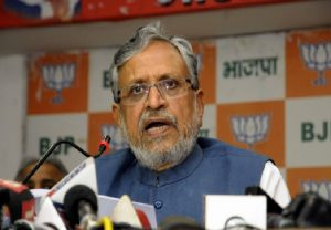 Sushil Modi named as BJP candidate for Rajya Sabha by-polls in Bihar