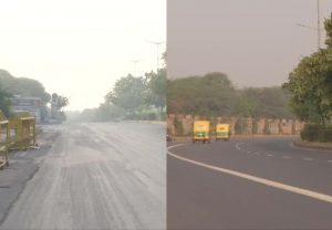 Delhi Pollution: National Capital's air quality improves as parts of city record 'moderate' AQI