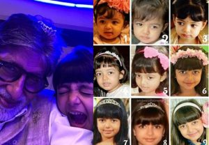Happy Birthday Aaradhya: Grandfather Amitabh shares 9 pictures as she turns 9