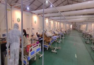 ICU beds in SVBPH COVID-19 Hospital enhanced to 500: DRDO