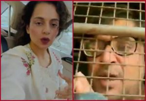 Kangana Ranaut shares video in support of Arnab Goswami
