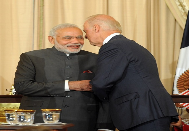 PM Modi dials US Prez-elect Joe Biden, extends best wishes to V-P elect Kamala Harris