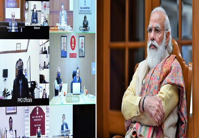 In PM Modi's review meet on Covid-19, broad roadmap on vaccine delivery and administration