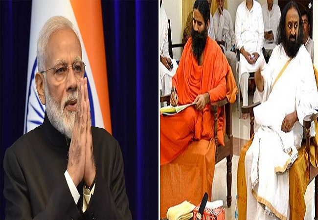 Spiritual leaders gives resounding support to PM Modi's call to promote 'AtmaNirbharta' by going 'vocal for local'