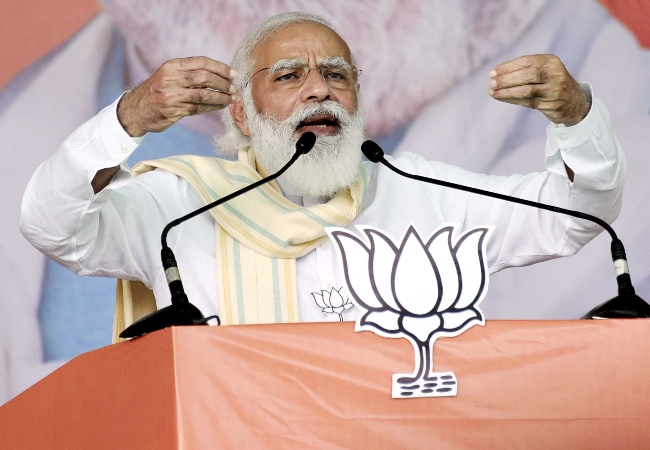 Bihar election: PM Modi talks of Pakistan's Pulwama confession, slams opposition for spreading rumors