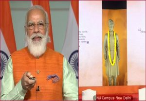 PM Modi unveils Swami Vivekananda's statue in JNU, says 'ideology should not override national interest'