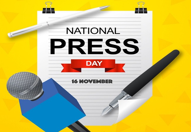 Why is National Press Day celebrated on November 16?
